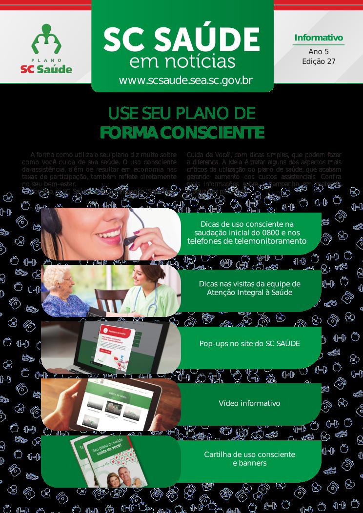 Edição 27 – Use seu plano de forma consciente