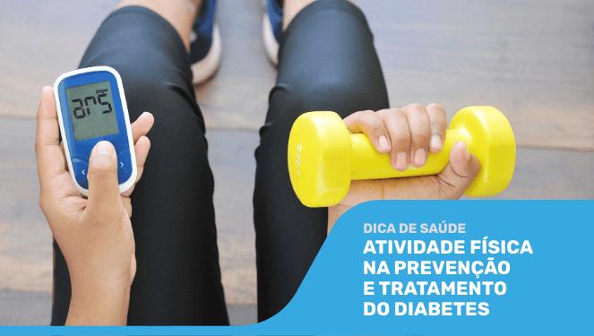 Atividade física na prevenção e tratamento do diabetes